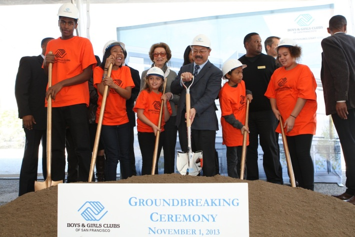 BGCSF Groundbreaking with Ed Lee