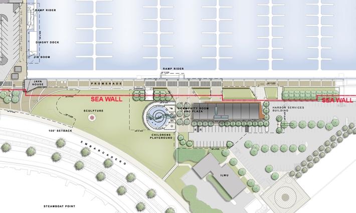 Southbeach_EDAW_Site Plan_Seawall